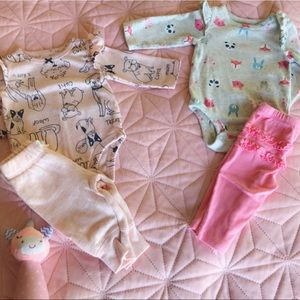 2 Carter's baby girl outfits